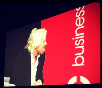 Breakfast with Sir Richard Branson